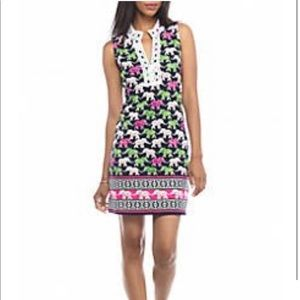 CROWN & IVY~ Sleeveless Printed Elephant Dress~S